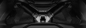Black 2018 Acura NSX Engine Cover