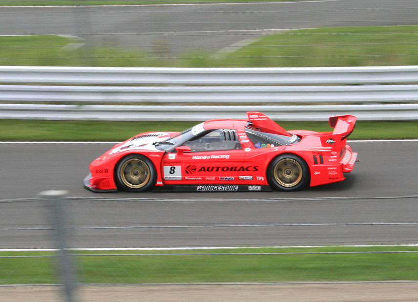 2001 Acura NSX-GT during Super GT competition in 2007