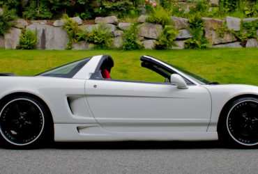 2005 White Acura NSX Targa