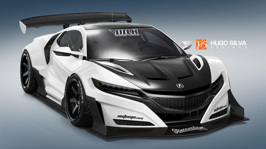 2015 Honda NSX by Hugo Silva