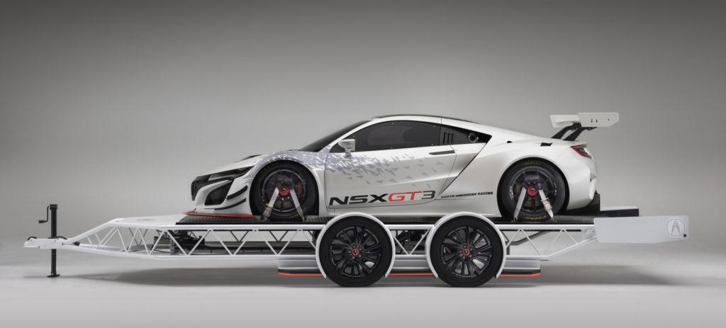 2017 Acura- NSX GT3 for SEMA