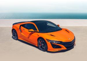 2019 Acura NSX Ratings Thermal Orange Pearl Ocean