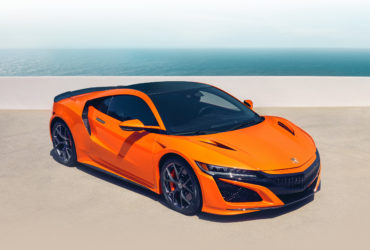 2019 Acura NSX Thermal Orange Pearl Ocean