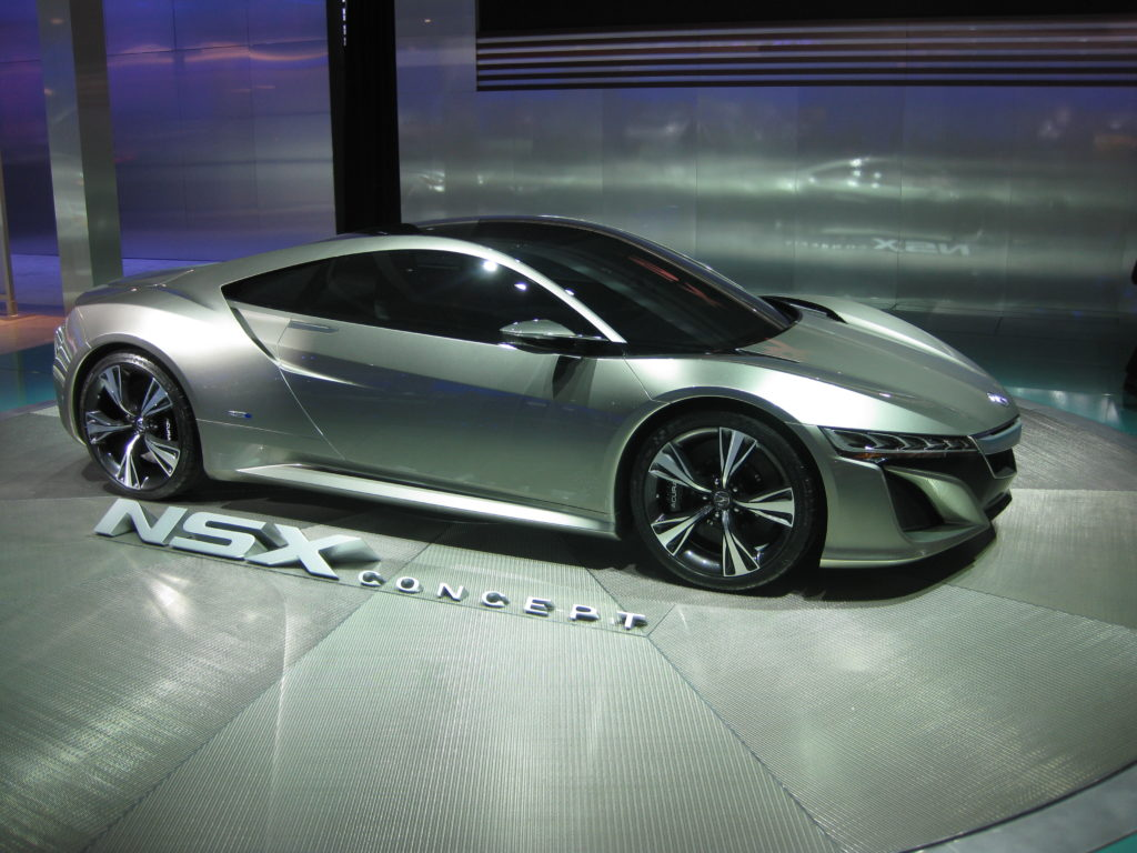 Acura NSX Concept 2012 North American International Auto Show