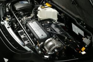 Transversely mounted 3-liter Honda C30A V6 engine