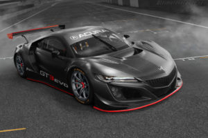 2019 Acura NSX GT3 Evo Front View