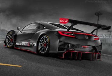 2019 Acura NSX GT3 Evo Rear View